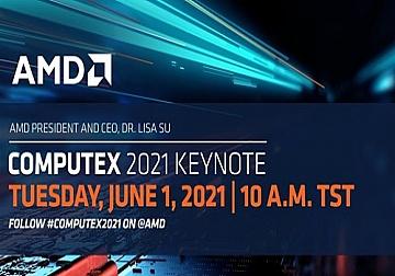Sự Kiện Computex 2021 - AMD trình diễn hệ sinh thái điện toán hiệu suất cao